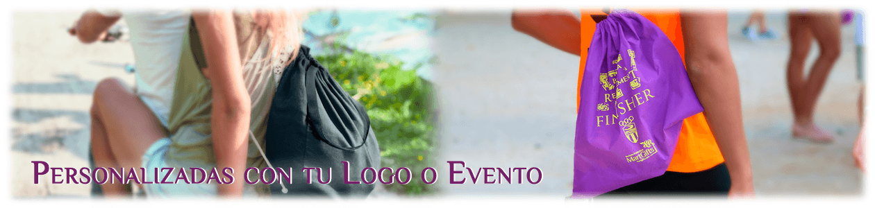 Mochilas Saco Personalizadas y Bolsas de Cuerdas