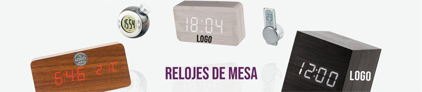 Relojes de mesa personalizados para empresas y eventos