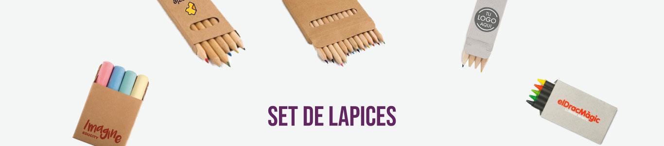 Set de Lapices personalizados para empresas y eventos