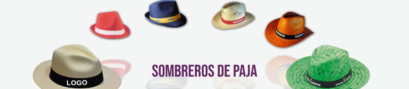 Sombreros de paja personalizados para empresas y eventos
