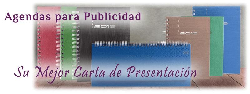 Agendas 2019 Espiral Promocionales