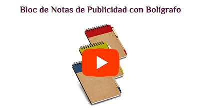 Bloc de Notas con Bolígrafo