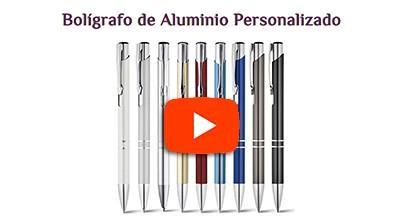 Bolígrafo de Aluminio Personalizado