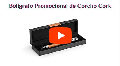 Bolígrafo Promocional de Corcho