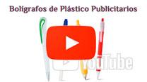 Bolígrafos de Plástico Personalizados