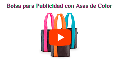Bolsa Compra con Asas de Color
