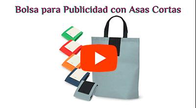 Bolsa Plegable con Asas Cortas