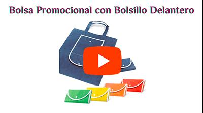 Bolsa Plegable con Bolsillo Delantero