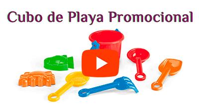 Cubo de Playa con 6 Accesorios