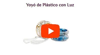 Yoyó de Plástico con Luz